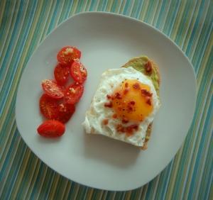 toast side tomatoes